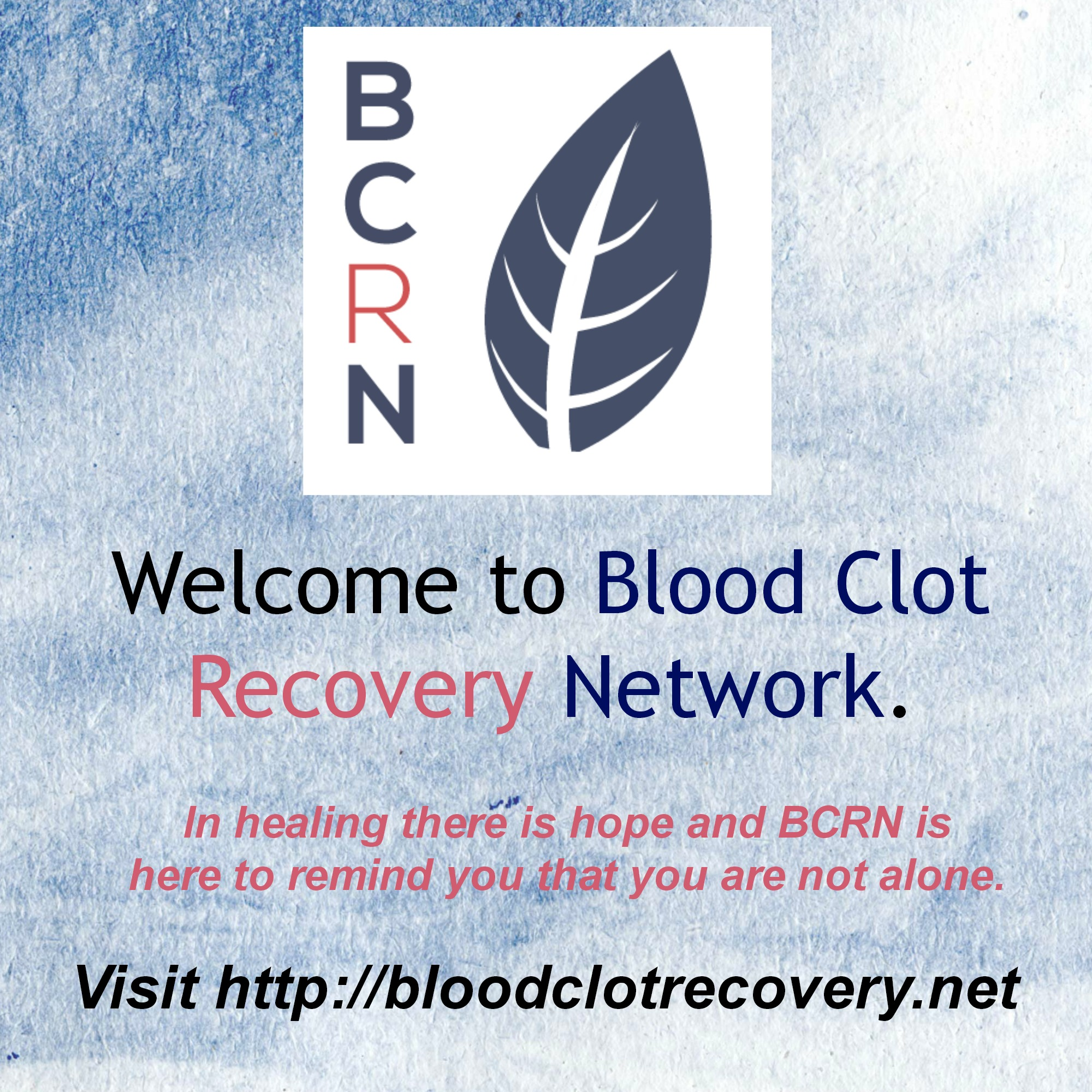 Welcome to BCRN Graphic