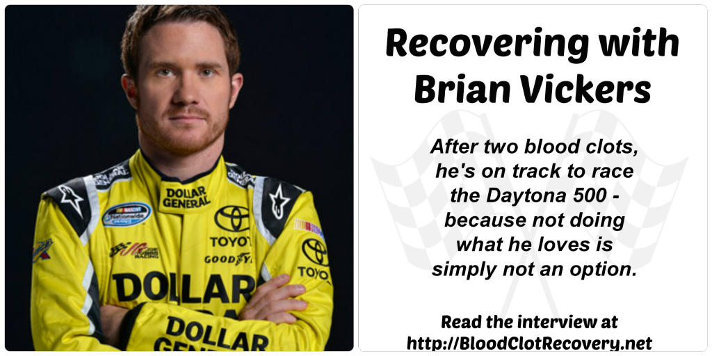 Brian Vickers Cover with flags
