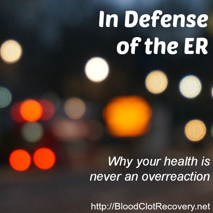 Three Symptoms You Should Never Ignore - Blood Clot Recovery Network