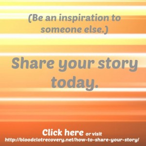 Be an inspiration Click Here button