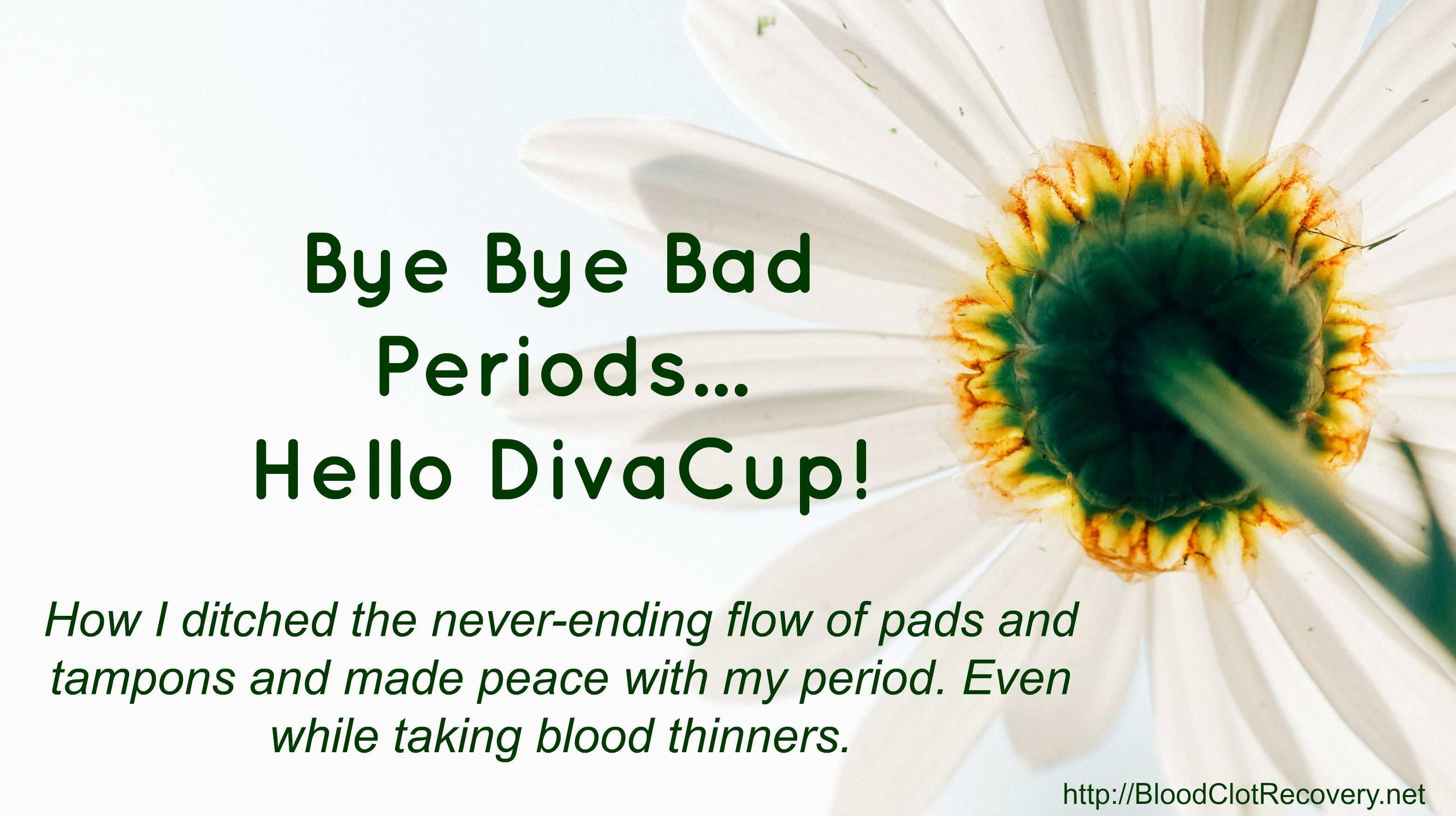 how to stop blood clots during menstrual cycle