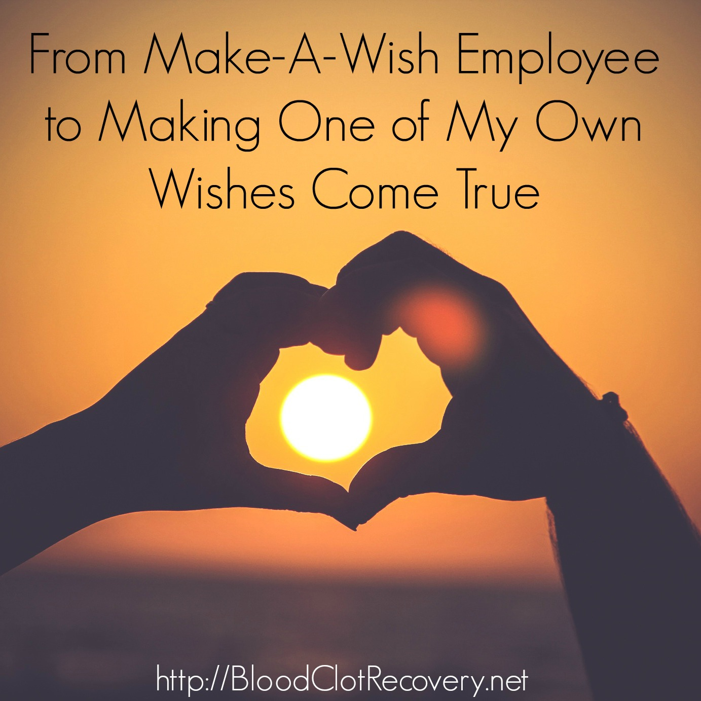 From Make A Wish Employee to Making One of