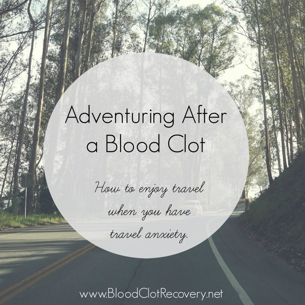 Travel after a blood clot