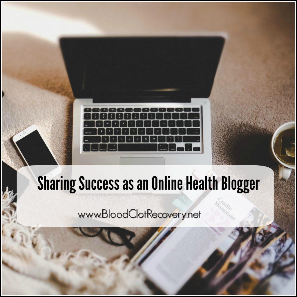 online health blogger