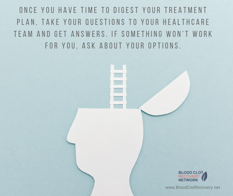 Talk to your doctors about your treatment options.